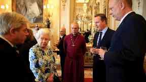 The Queen, David Cameron