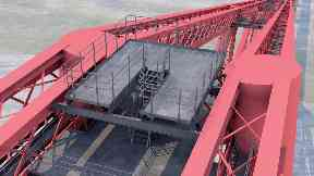 Forth Bridge walkway viewing platform