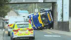 Thornbush Road, lorry crash