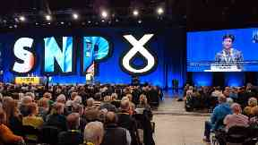 SNP conference, Aberdeen