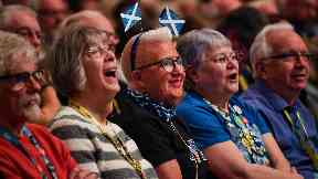 SNP activists at conference in Aberdeen 2019