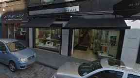 Dundee: The Walker shop was targeted.