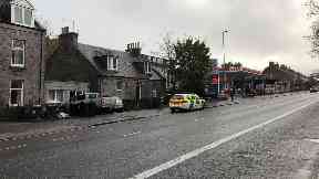 Chemicals were found at house in King Street, Aberdeen.
