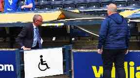 Kilmarnock v Rangers disorder