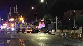 Cardonald bus crash