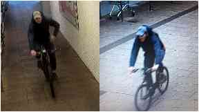 CCTV: Appeal after robbery and theft.