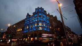 Jenners building Edinburgh
