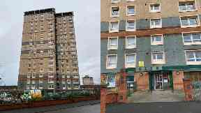Glen Tower, Motherwell