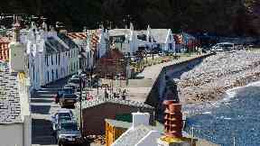 Pennan and its mix of roofs