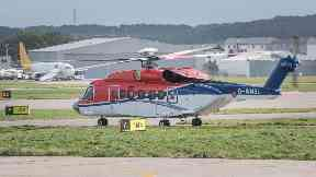 CHC S92 helicopter