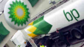 Arrest: A petrol station was robbed. (file pic)