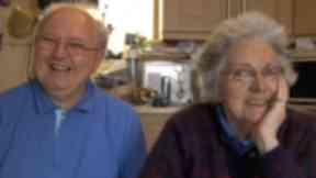 Carer Hugh and wife Margaret