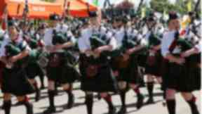 World Pipe Band Championships held in Glasgow