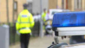 Police hunt robber pair after man injured