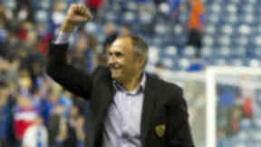 Darko Milanic guided his team to a draw on their travels in Glasgow, sending Maribor through on aggregate.