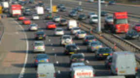 Crash: traffic chaos reported on M8