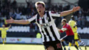 St Mirren midfielder Paul McGowan.