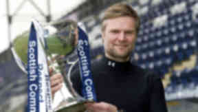 Falkirk boss Steven Pressley.