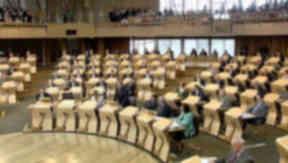 Scottish Parliament: Debating the economy.