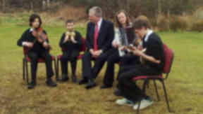 Funding announcement: Michael Russell at Plockton School of Traditional Music