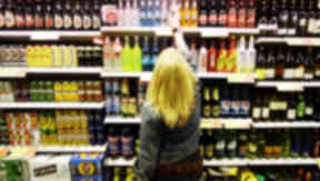 Alcohol: Call for advertising crackdown (file pic).