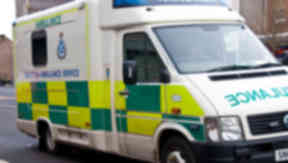 Ambulance: Woman paramedic attacked by patient.