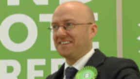 Debate plans: Green co-convener Patrick Harvie.