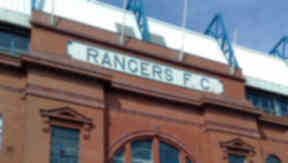 Ibrox stadium: Colin Burrows has been banned from Ibrox.