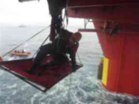 Protest: Greenpeace activists targetted one of Cairn Energy's West Greenland oil rigs in August 2010.