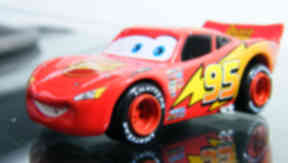 Motoring on: Lightning McQueen toy will be a big seller.