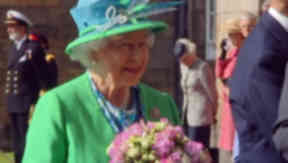 The Queen hosts an annual garden party at Holyrood.