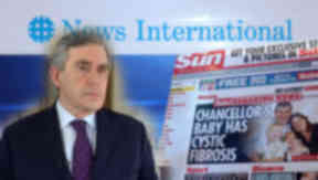 Gordon Brown: The politician is said to have been targeted when he was Chancellor.