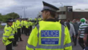Bill: The government claims police require the two new offences to deal with sectarianism at football.