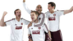 Hearts announce their new kit deal with Adidas