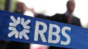 RBS: Lender reports £2.04bn loss for first half of year (file pic).