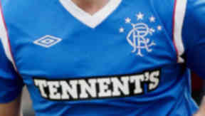 GV of Rangers strip