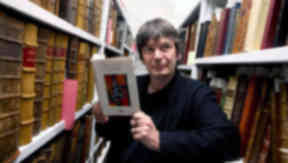 Ian Rankin donates Rebus manuscripts to National Library