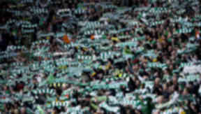 Celtic supporters.