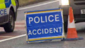 Fatal: Motorcyclist died after crash.