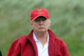 Donald Trump opened the Aberdeenshire golf resort in 2012.