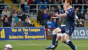 Leigh Griffiths, Ross County 3-2 Hibernian, October 2012.