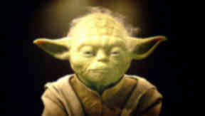 Yoda: The 'Jedi' was punched in the face.