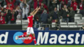 Ezequiel Garay, Benfica 2-1 Celtic, November 2012.