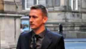Derek Riordan at Edinburgh Sheriff Court.