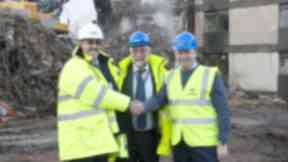 RAF Lossiemouth Mess Demolition