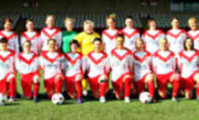 Airdrie Ladies football team, now part of Cumbernauld Colts