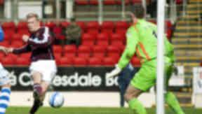 Andrew Driver, St Johnstone 2-2 Hearts, December 2012.
