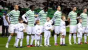 Celtic line-up