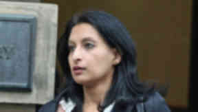 Shafquat Saleem who killed her brother Imran in a fire.