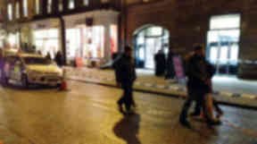 Two men have stolen a quantity of jewellery from a luxury retailer in Edinburgh's George Street. The men raided the capital's branch of Rox in the Assembly Rooms at 5.15pm on Tuesday January 15 2013 before escaping on a motorcycle.